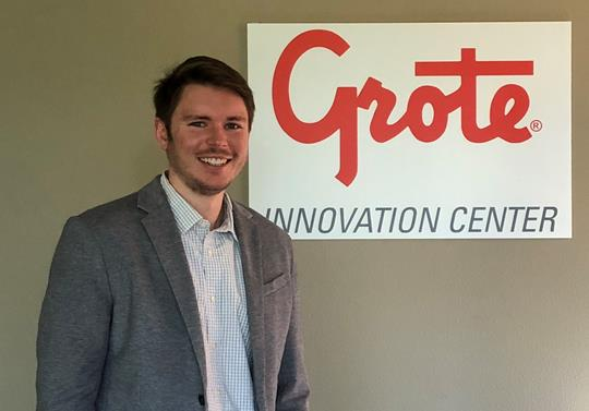 Shawe Memorial Alumni Brandon Scroggins, Grote Industries OEM Regional Manager